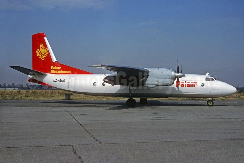 Palair Macedonian Airlines Antonov An-24B LZ-ANO (msn 87304406) SOF (Christian Volpati Collection). Image: 935251.