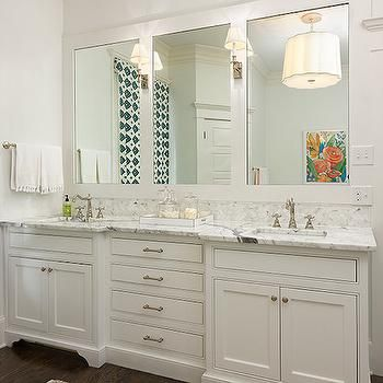 double vanity ideas, transitional, bathroom, colordrunk