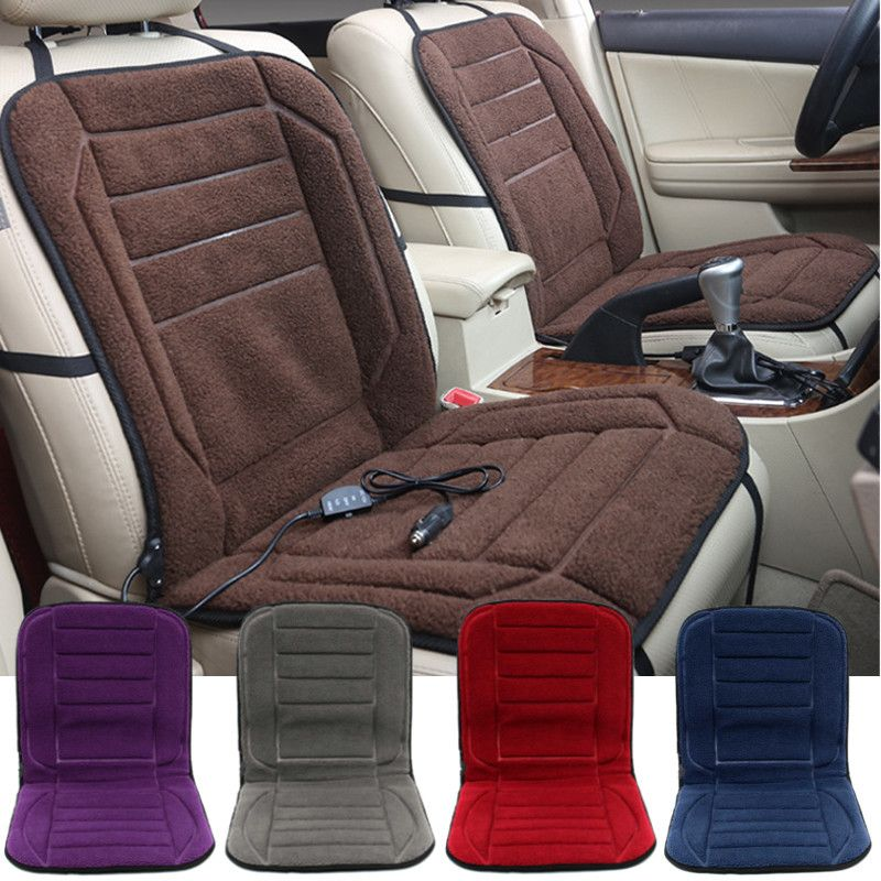 12V Winter Car Seat Heated Cushion Heating Warmer Pad With Hi Lo Adjustable Switch