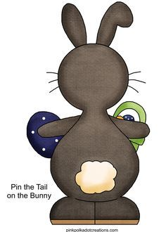Easter-ideas - Pin the tail on Hoppy