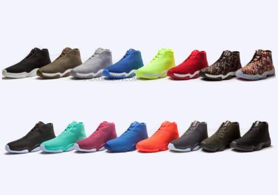 air jordan future colors