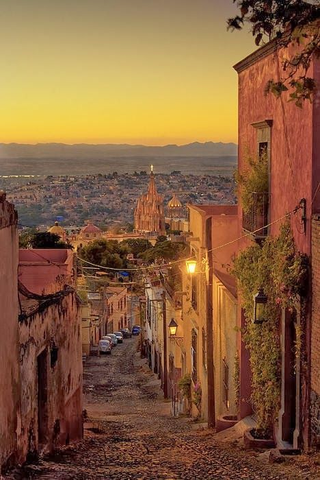 San Miguel de Allende, Mexico. A retreat for the creative soul.