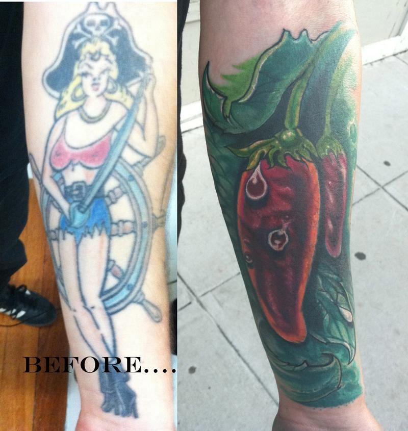 chili pepper sleeve tattoo | Inspirational tattoos, Worlds ...