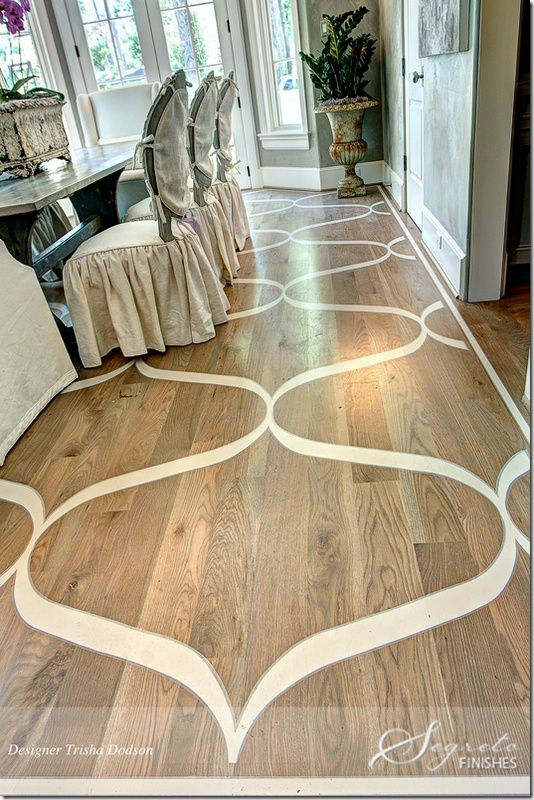 "Favorite ""PINS"" Friday. Painted Hardwood FloorsDark HardwoodWood ... - Favorite €�PINS"" Friday The Floor, Design And Painted Wood Floors"