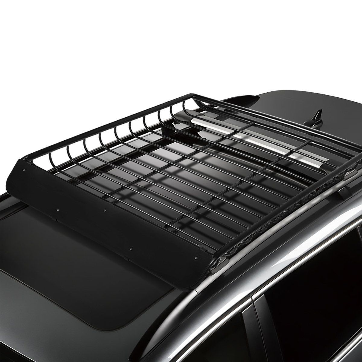 Specifics And Features Sturdy Weather Resistant Heavy Duty Steel Construction Black Coating Mounts To Veh In 2020 Cargo Roof Rack Kayak Storage Rack Kayak Storage