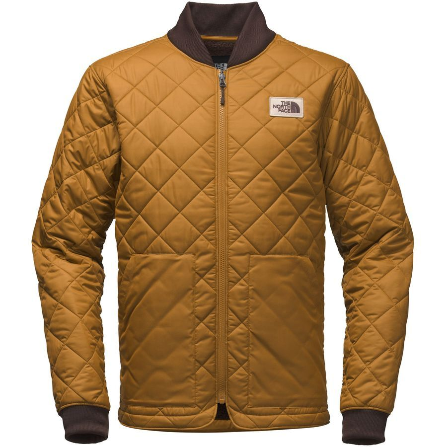 The North Face Cuchillo Insulated Jacket Men S Golden Brown Leather Jacket Men Insulated Jackets Hooded Jacket Men [ 900 x 900 Pixel ]