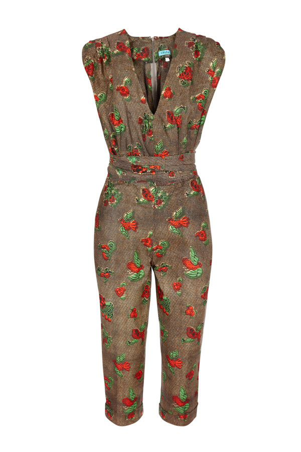 Jumpsuit Sika | ankara | Jumpsuit, Fashion, Dresses