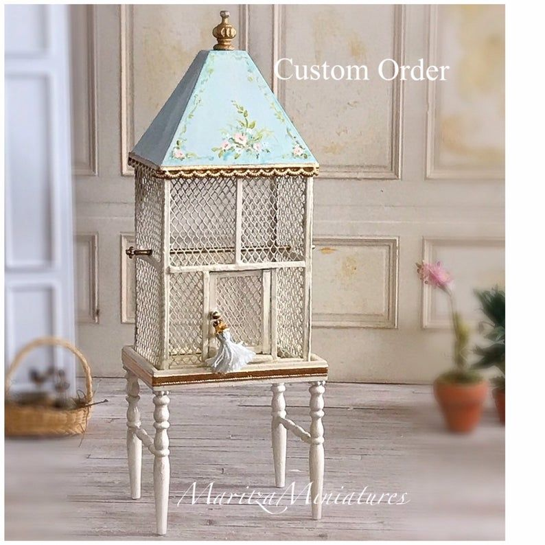 Your Place To Buy And Sell All Things Handmade Bird Cage Vintage Bird Cage Doll House
