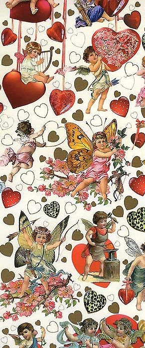 Specialty Valentine paper made in Germany