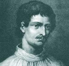Giordano Bruno fue un astrónomo, filósofo y poeta italiano. Sus teorías cosmológicas superaron el modelo copernicano, pues propuso que el Sol era simplemente una estrella; que el universo había de contener un infinito número de mundos habitados por seres inteligentes, y propuso, en el campo teológico una forma particular de panteísmo, lo cual difería considerablemente de la visión cosmológica sostenida por la Iglesia católica.