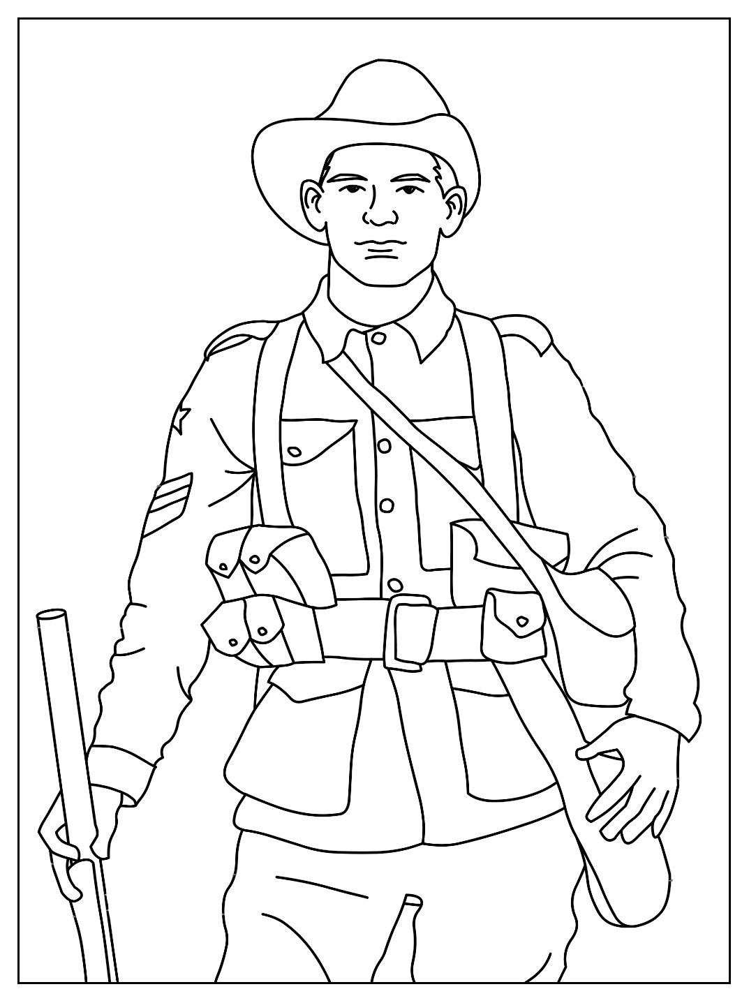 soldier coloring pages hsie resources pinterest learning