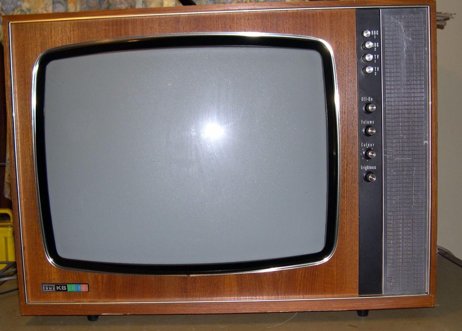 itt kb cvc2 colour tv from 1969 very rare vintage. Black Bedroom Furniture Sets. Home Design Ideas