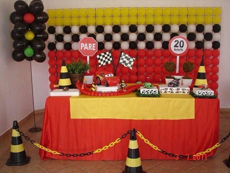 Decoracion De Fiesta Infantiles Tematicas Buscar Con Google Fiesta De Disney Cars Decoracion De Fiestas Infantiles Fiestas De Cumpleanos De Autos