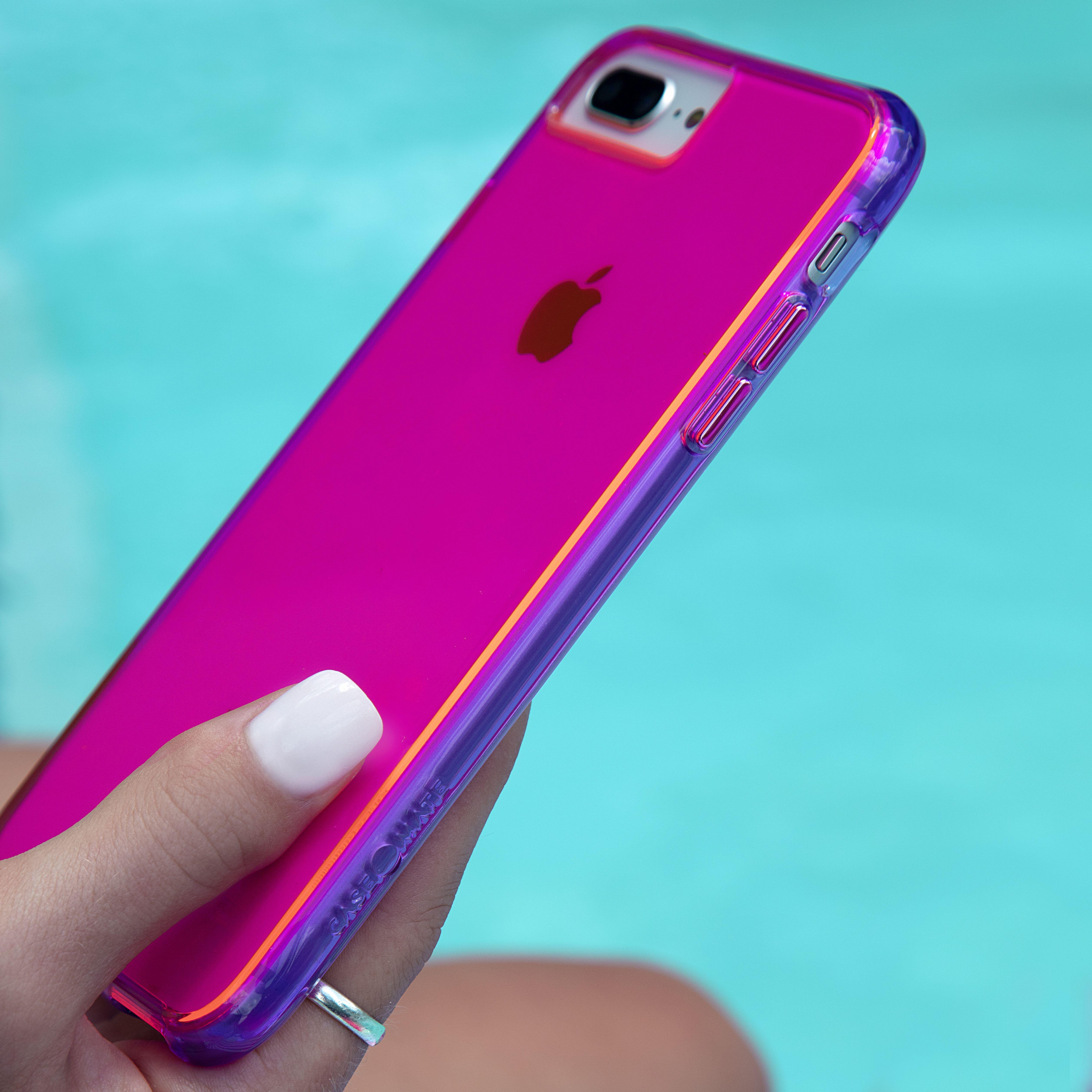 neon pink coque iphone 6