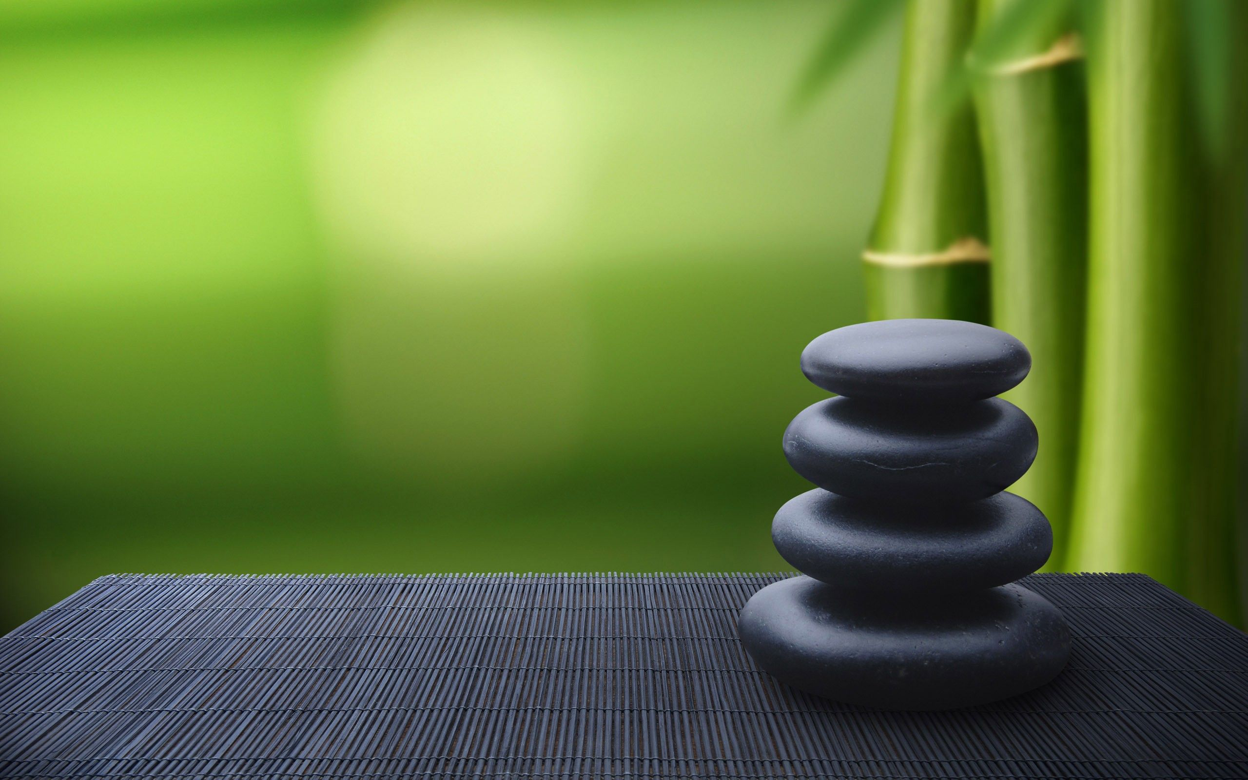 Bamboo Stones Zen Meditation Fresh New Hd Wallpaper