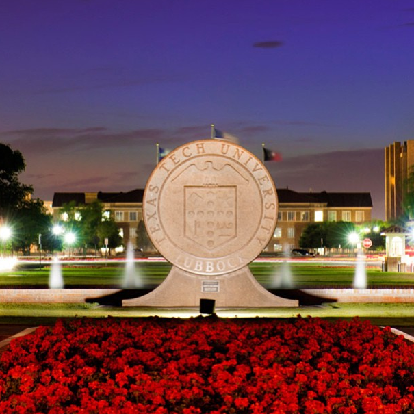 Texas Tech Campus Is Even Prettier In The Evening!