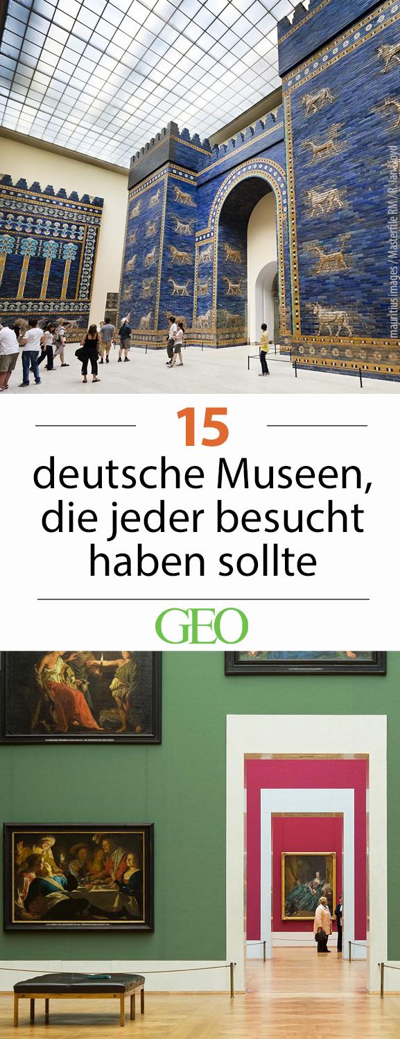 die besten museen in deutschland 15 tipps in 2019 reise inspirationen pinterest reisen. Black Bedroom Furniture Sets. Home Design Ideas