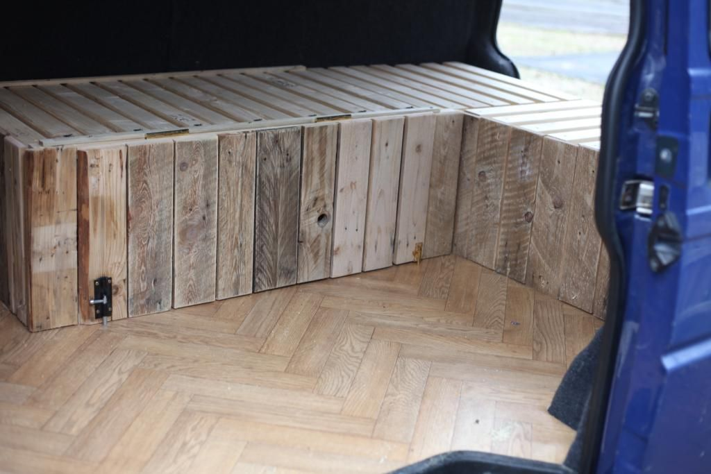 Im going to attempt to build my campervan furniture with