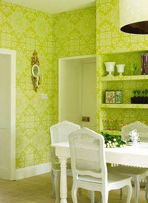 Lime kitchen