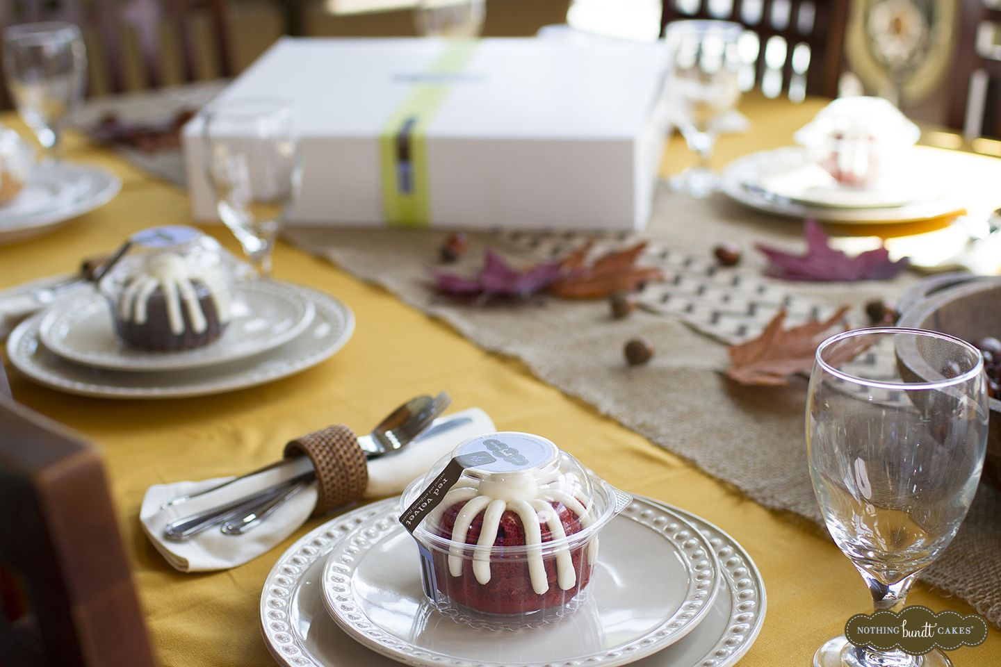 A bundtlet bundle from nothing bundt cakes allows you to