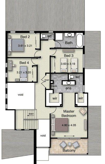 planos de casas de dos pisos para construir