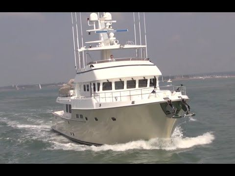 """Friend of mine only captains these amazing boats - #boat #yacht #poweryacht Nordhavn 64 """"Solona"""" - YouTube"""