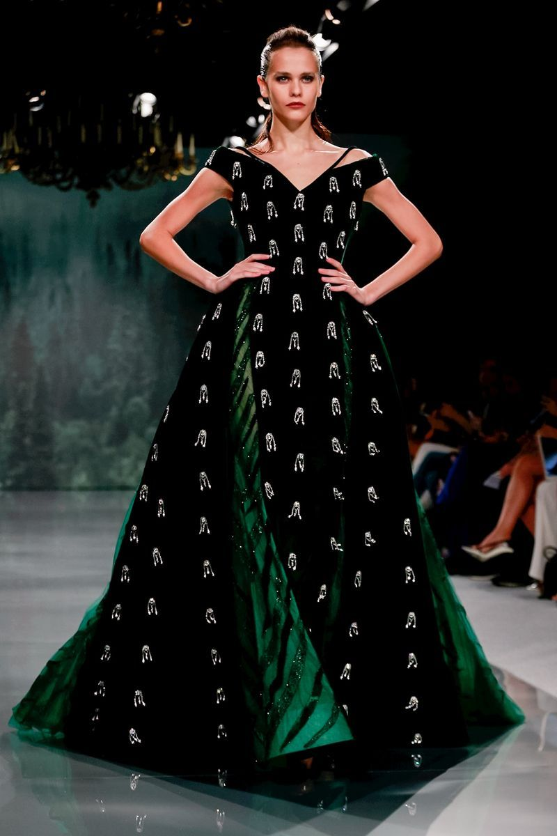 Ziad nakad fall couture fresh off the runway in