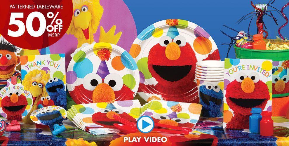 Elmo Party Supplies Elmo Birthday Party Ideas Party City Elmo Party Supplies Elmo Birthday Party Elmo Party Decorations
