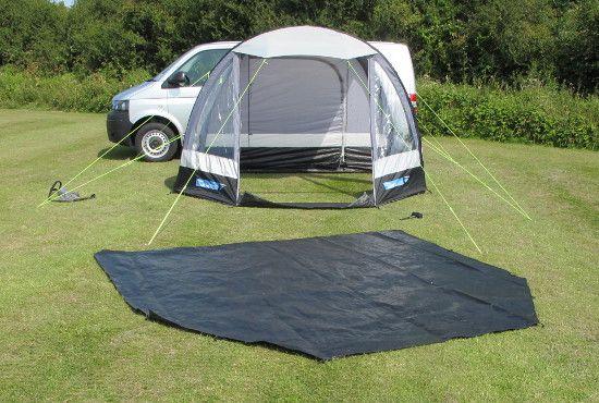 K&a Travel Pod AIR Mini drive-away motorhome awning & Kampa Travel Pod AIR Mini drive-away motorhome awning | MotorHome ...