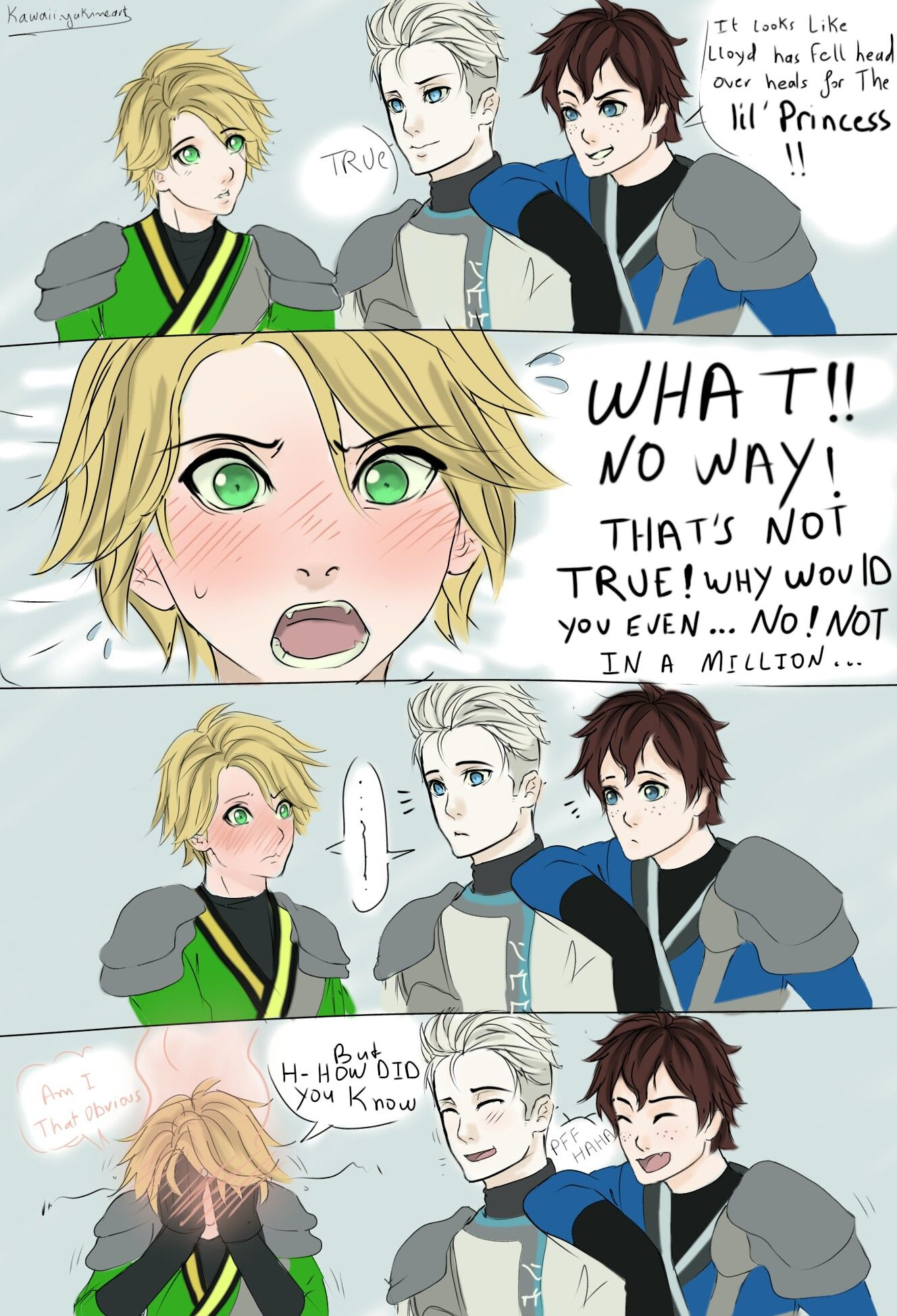 Awe Poor Lloyd My Iron Will Shall Both Support And Propel This