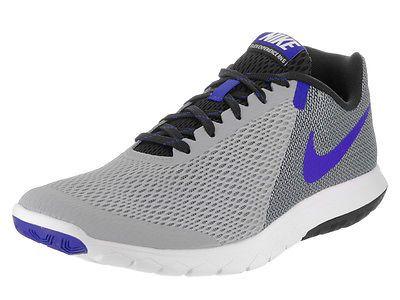 Nike Men's Flex Experience Rn 5 Wolf Grey/Racer Blue/Blk/Wht Running