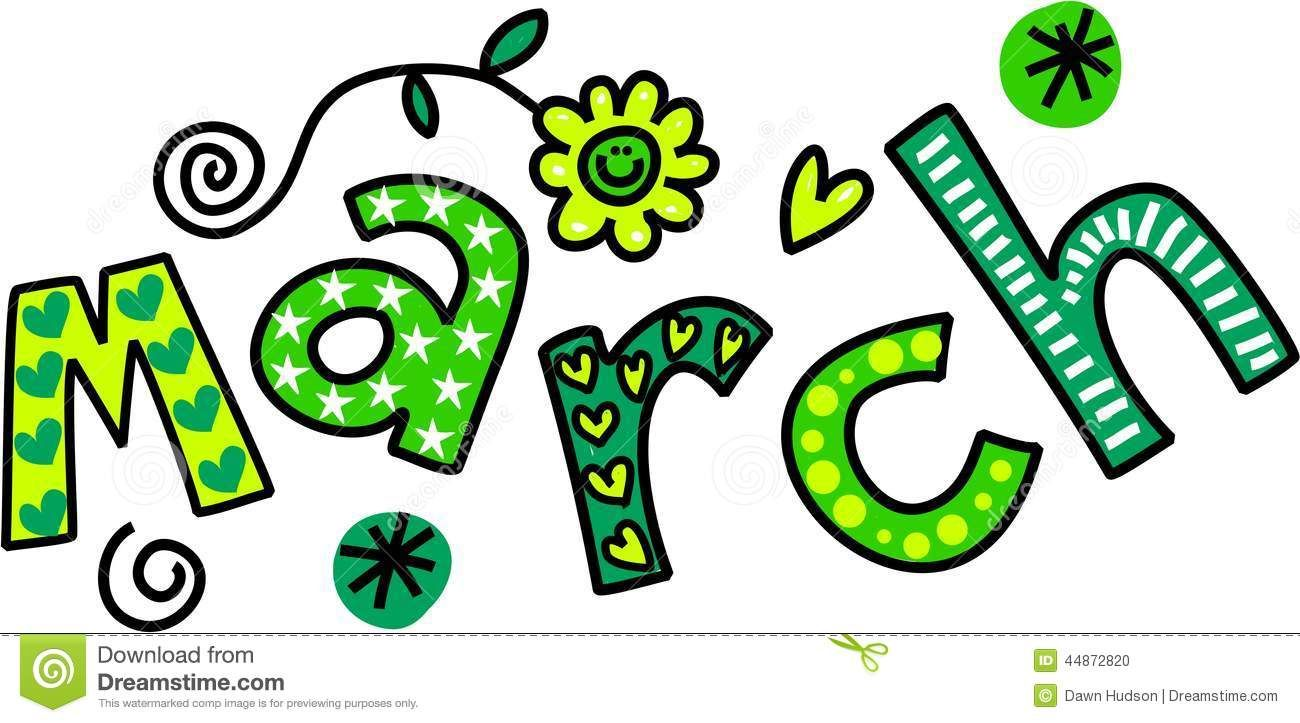 march images clip art - Google Search | a day in the Month ...