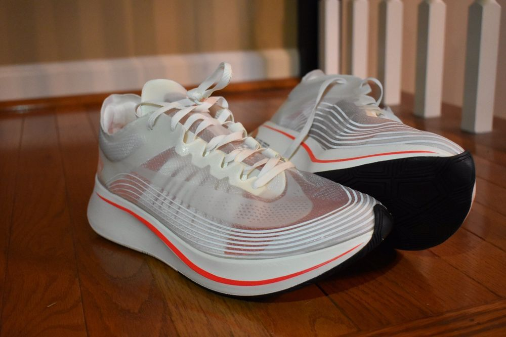 2615e105bd2f0 Nike Zoom Fly SP Breaking 2 Running Shoes Mens Size 12 AJ9282-106 ...