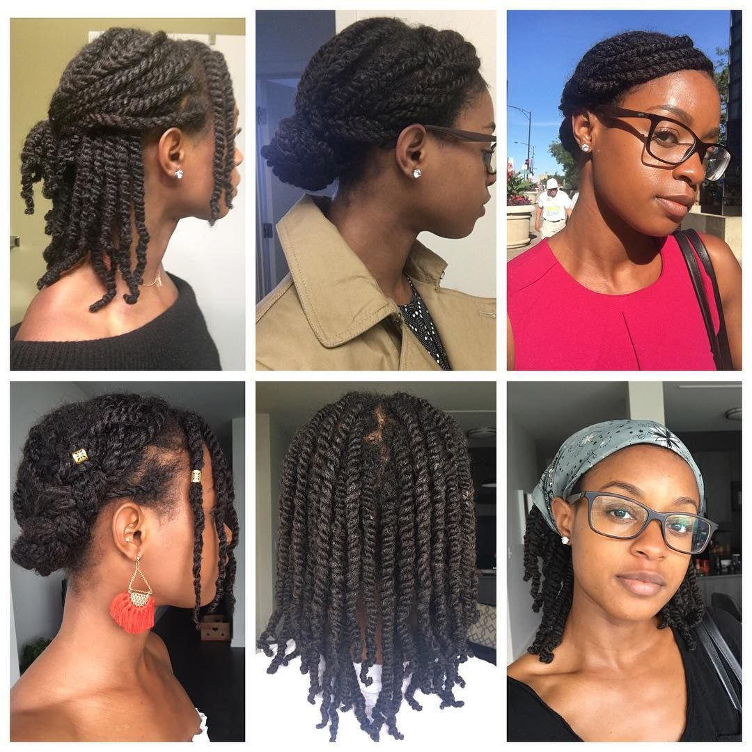 Kyla On Instagram Twists Appreciation I Love My Medium Mini Twists The Bottom Middle Sh Twist Hairstyles Natural Hair Twist Out Natural Hair Twists
