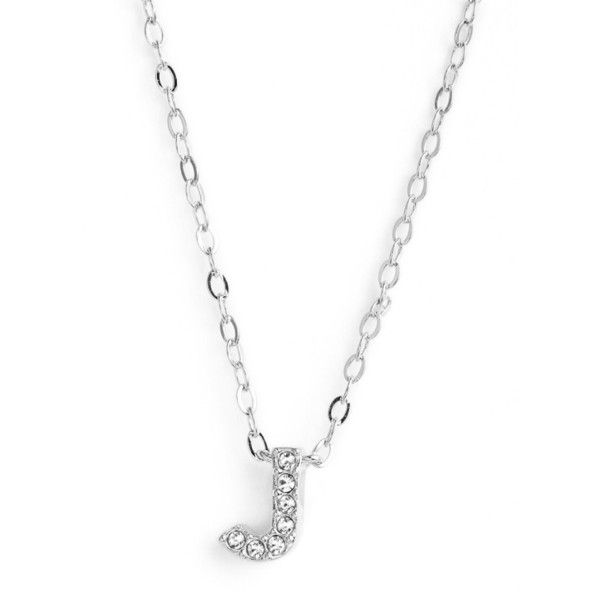 Womens nadri initial pendant necklace 45 liked on polyvore womens nadri initial pendant necklace 45 liked on polyvore featuring jewelry necklaces aloadofball Choice Image