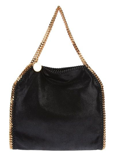 STELLA MCCARTNEY Falabella Tote with Gold Hardware. NEED THIS. #falabella #stellamaccartney #bagporn