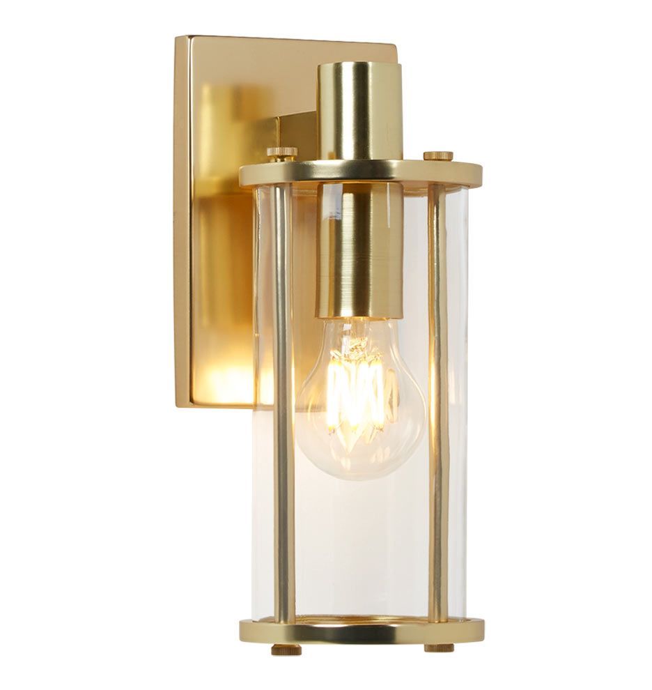 Yeon Single SconceYeon Single Sconce Rejuvenation Home Decor - Single sconce bathroom lighting