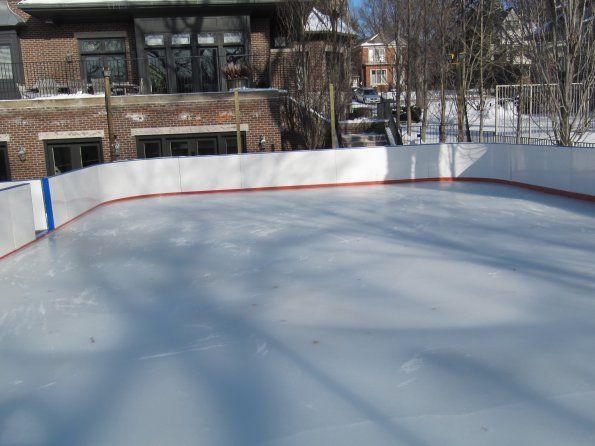 Backyard ice rink | Backyard ice rink, Backyard rink, Backyard
