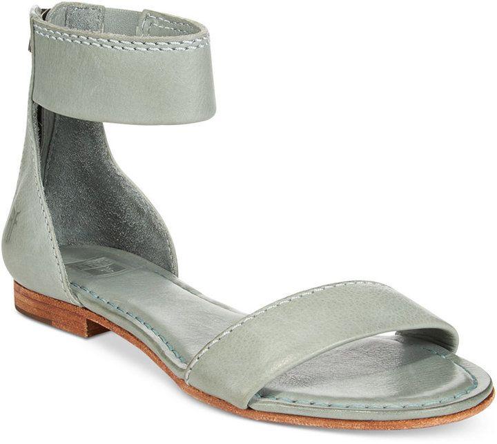 74ff922222880 Frye Women s Carson Ankle-Zip Sandals