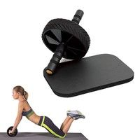 Procircle Ab Wheel With Large And Thick Knee Pad Mat Color Black Ab Wheel Knee Pads Abs