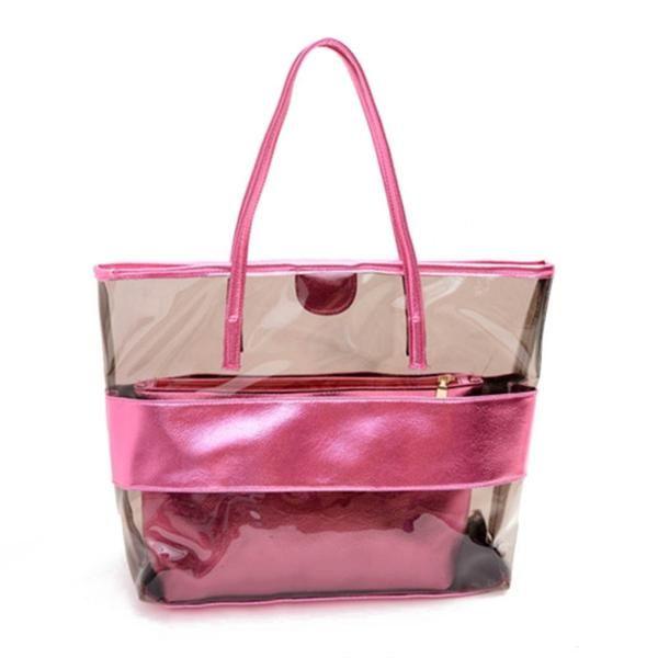 Item Type: HandbagsExterior: NoneSize: Medium(30cmNumber of Handles/Straps: TwoInterior: Interior Zipper PocketInterior: Interior CompartmentClosure Type: Zippe