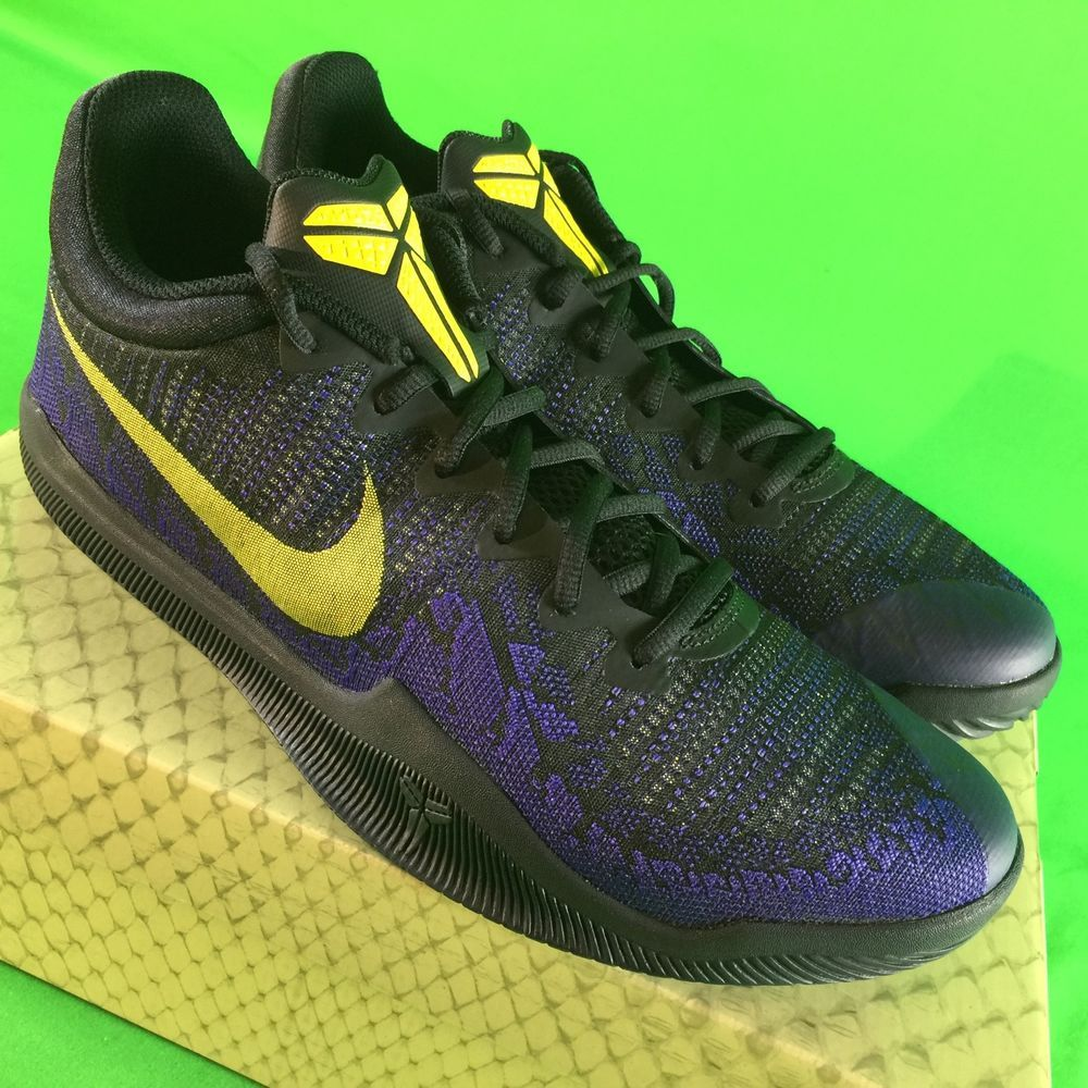 2fa51835d853 Nike Kobe Bryant Mamba Rage Men Sz 11 Basketball Shoes Lakers Yellow Purple  NEW  fashion  clothing  shoes  accessories  mensshoes  athleticshoes (ebay  link)