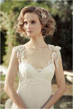short hair bride  google search  retro wedding hair