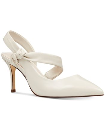 db749250293 Nine West Mamelu Bow Slingback Pumps Women Shoes | Products in 2019 ...