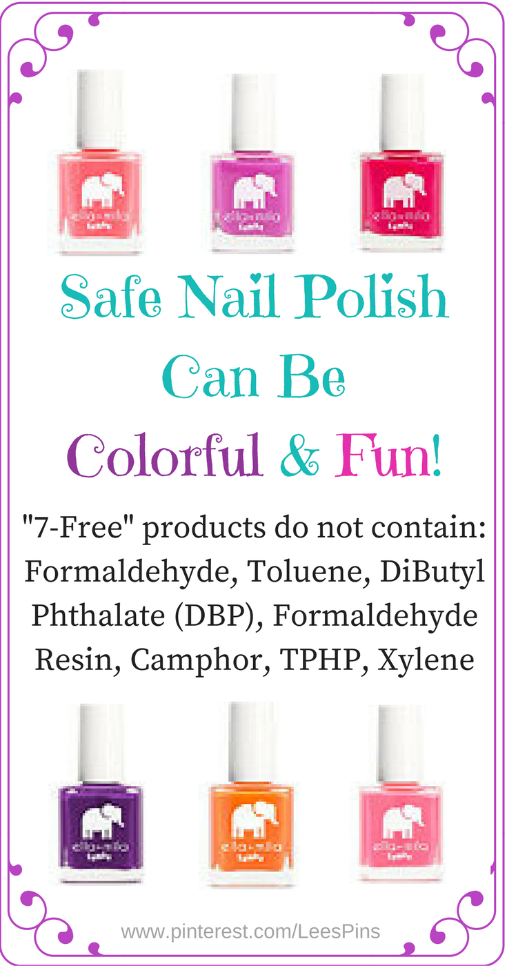 Many Chemicals in Nail Polish can wreak havoc on your body and ...