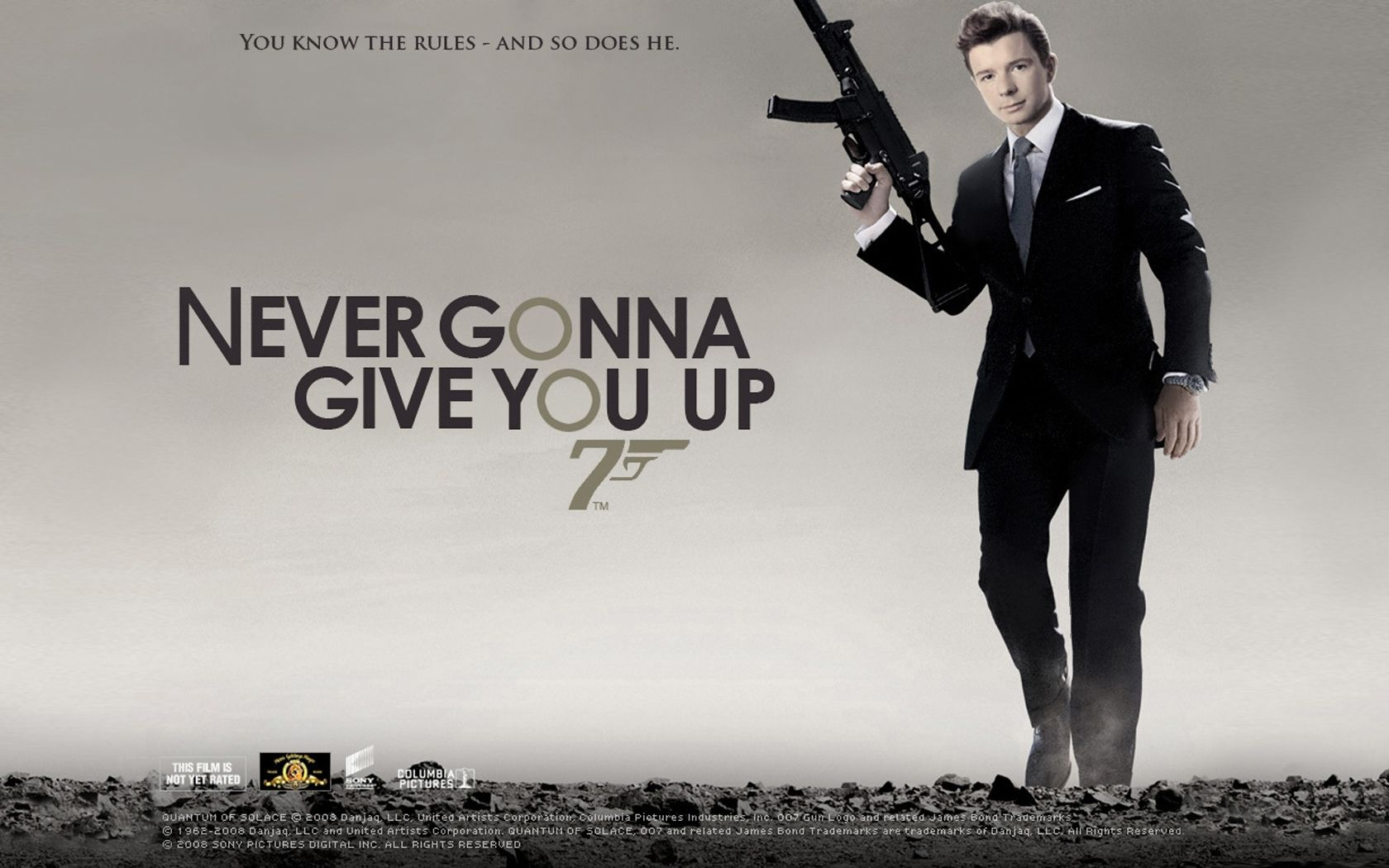 Okay I M Still Laughing At This Rick Astley Peliculas James Bond