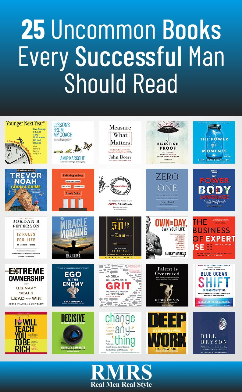 Books every successful man should own top 10 best