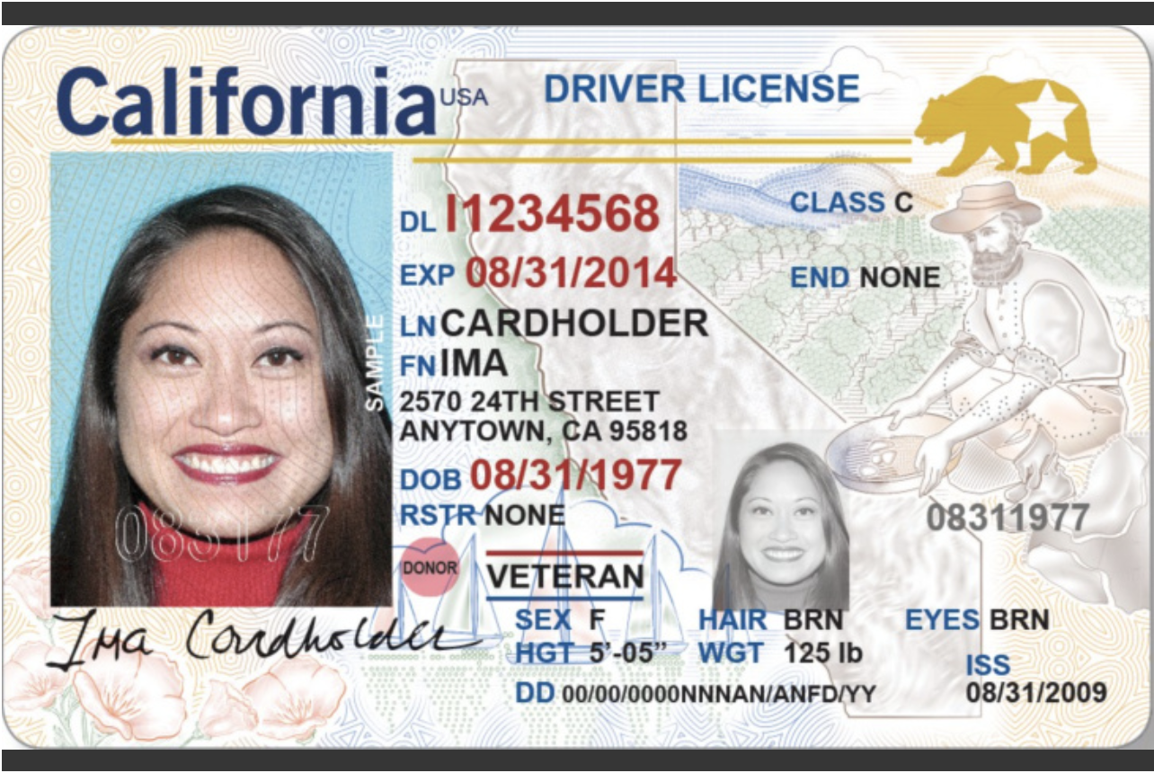 Stunning Oklahoma Drivers License Template Contemporary - Entry ...