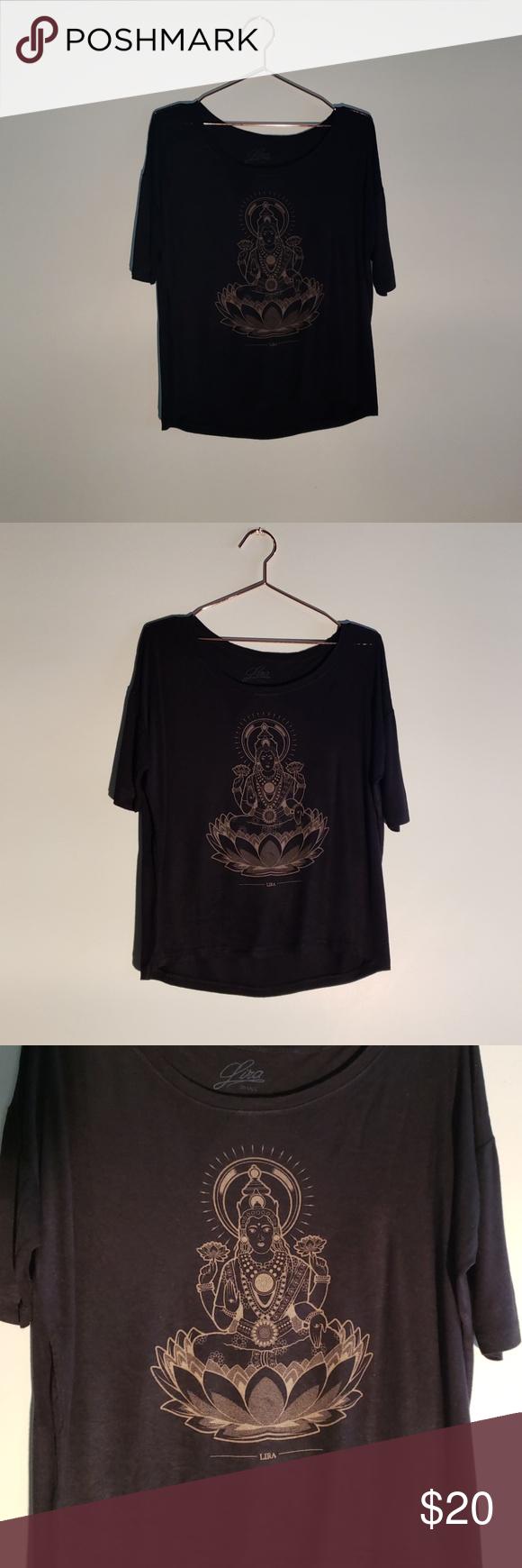 LAKSHMI BOMBER BLACK Batwing Sleeve top