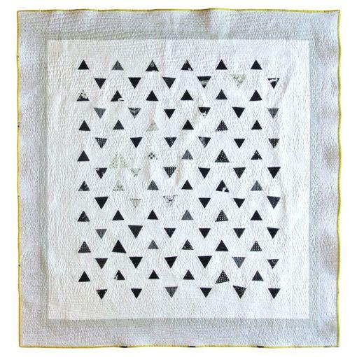 Minimal Triangles Quilt Pattern Pdf Download Triangle Quilt Pattern Triangle Quilt Quilt Pattern Download